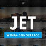 WING(STINGER PRO2)と専用子テーマ「JET」のセット